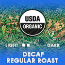 Organic Regular Roast Decaf Coffee