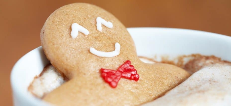 Ginger Bread Man in Coffee