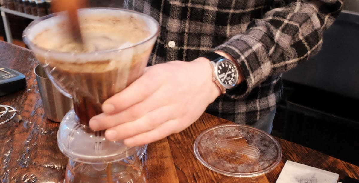 Clever coffee dripper - full immersion method