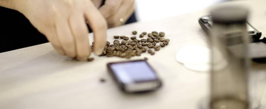 aeropress coffee brewing