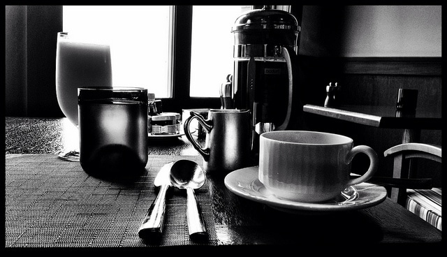 Great breakfast with a French press