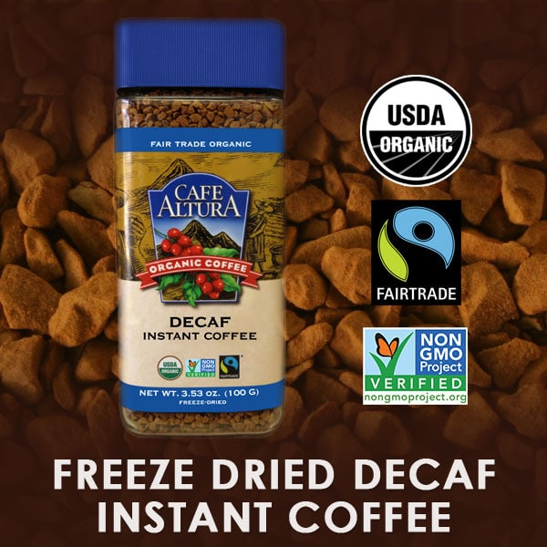 Organic Decaf Instant Coffee