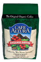 Organic Whole Bean Coffee - French Roast